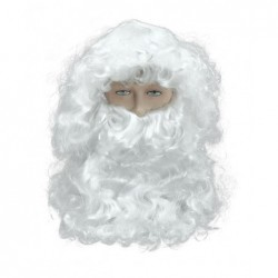 Father Xmas Old Man Wig and Beard