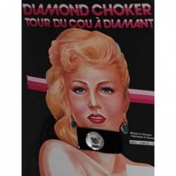 Choker Diamond Black