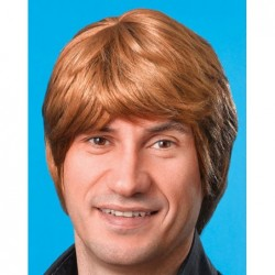 Male Wig Brown
