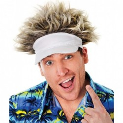 Golfer Hat and Hair Wig