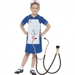 Nurse Costume with Optional Stethoscope