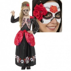 Deluxe Day of the Dead Girl with optional Mask