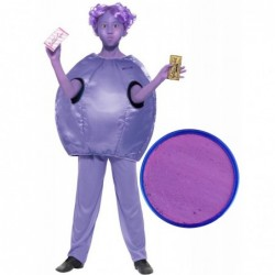 Violet Beauregarde with Optional Face Paint