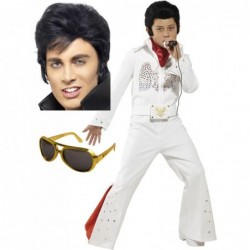Elvis Boy with Optional Wig and Glasses
