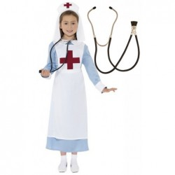 Vintage Nurse with Optional Stethoscope