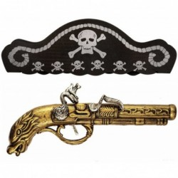 Pirate Gun and Hat