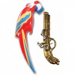 Pirate Parrot and Gun