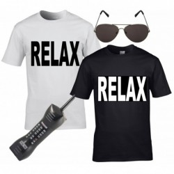 Relax T-Shirt with Optional Extras