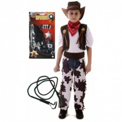 Cowboy with Optional Whip and Gun