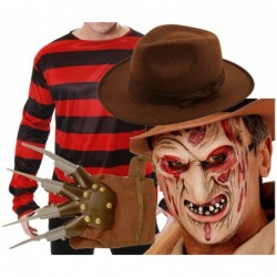 Freddy Krueger Top with Optional Hat