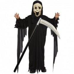 Childs Scream Halloween Robe with Optional Scythe