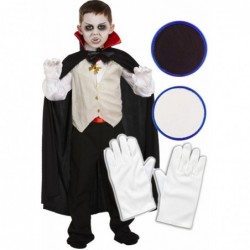 Boys Vampire with Optional Face Paint