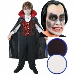 Boys Vampire with Optional Wig & Face Paint