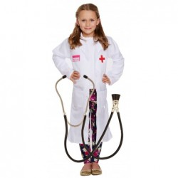 Doctors Coat with Optional Stethoscope