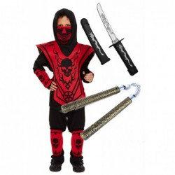 Ninja Skeleton with Optional Sword & Nunchuk
