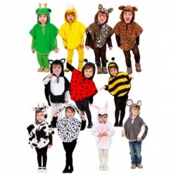 Childrens Animal Poncho