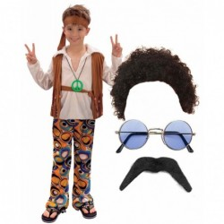 Boys 70s Hippy with Optional Wig