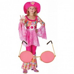 Girls 60s Hippy Diva with Optional Glasses