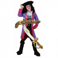 Boys Captain Hook Pirate with Optional Sword & Gun
