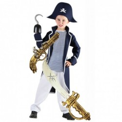 Boys Captain Pirate with Optional Sword & Gun