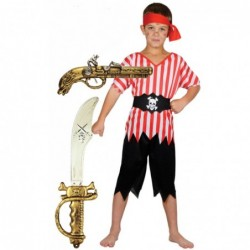 Boys Pirate with Optional Sword & Gun