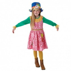 Girls Mrs Scarecrow Costume
