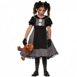Girls Dark Rag Doll