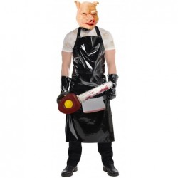 Evil Pig Butcher with optional Cleaver and Chainsaw