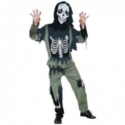 Boys Skeleton Zombie Costume