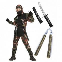 Ninja Soldier with Optional Sword & Nunchuk