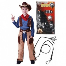 Cowboy Wild West with Optional Whip & Gun
