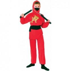 Red Ninja Boy