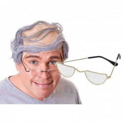 Baldy Man Wig with Glasses