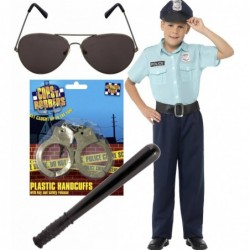US Police Officer add Optional Glasses