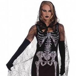 Ladies Graveyard Shift Skeleton Costume