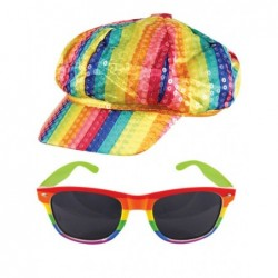 2 Piece Rainbow Kit: Cap & Sunglasses