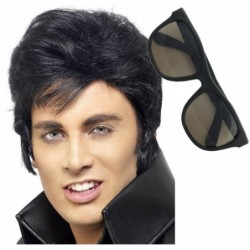 Elvis Wig and Shades