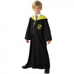Boys Harry Potter Hufflepuff Robe Deluxe