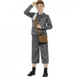 Evacuee Boy Grey