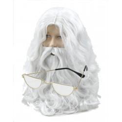 Santa Beard and Glasses Kit