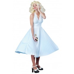Marilyn Munroe Pleated Dress
