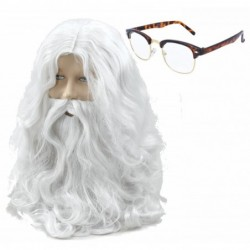 Santa Beard and Tortoiseshell Glasses