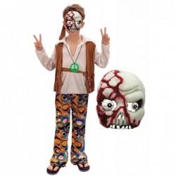 Boys 70s Zombie Hippy with Mask
