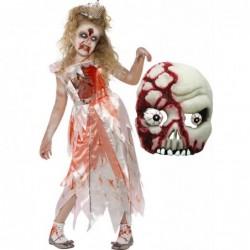 Girls Zombie Sleeping Princess and Zombie Mask