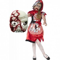Girls Zombie Miss Hood and Zombie Mask