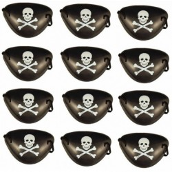 12 x Pirate Eye Patch