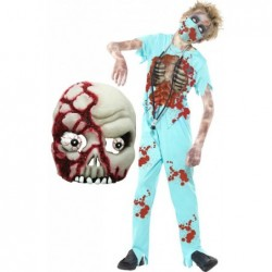 Zombie Surgeon with Zombie Mask