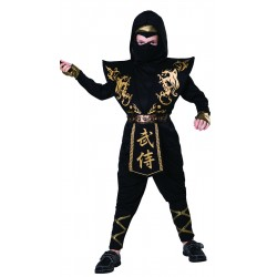 Black and Gold Ninja