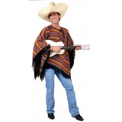 Mexican Stripy Poncho