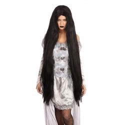 Black 40 inch Wig